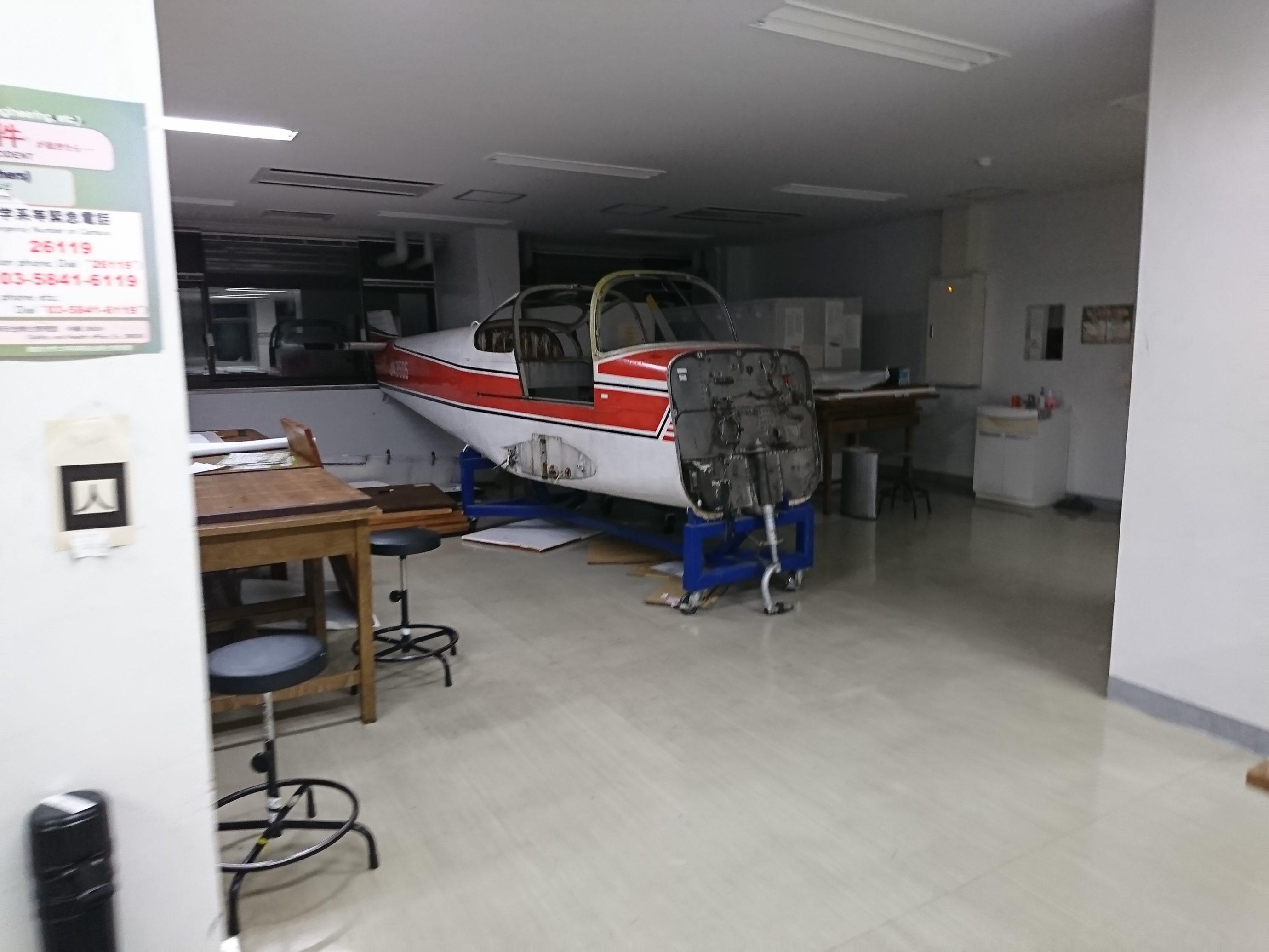 東大航空宇宙工学科の製図室の闇